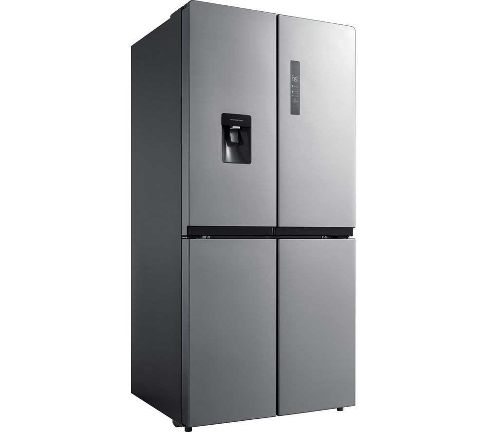 Image of KENWOOD K4D496X18 Fridge Freezer - Inox