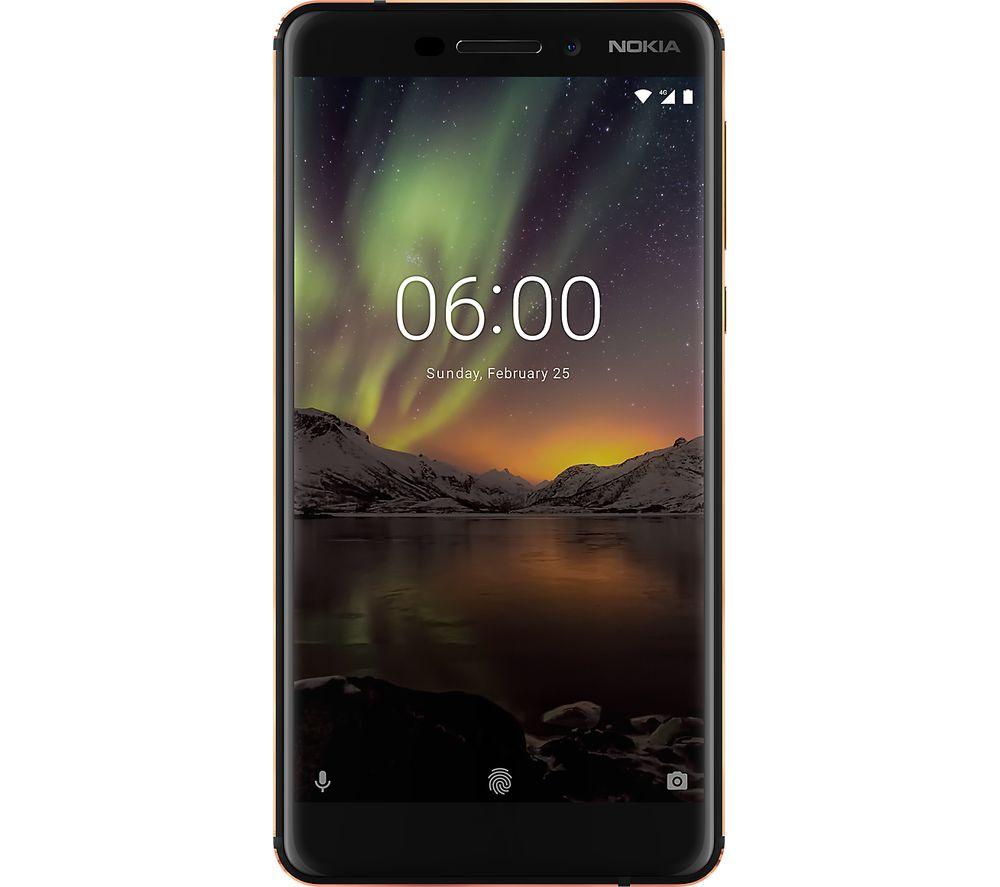 Nokia 6 (2018) - 32 GB, Black