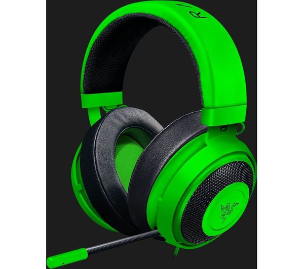 RAZER Kraken Pro V2 Oval 2.0 Gaming Headset - Green Deals  d3c7b7a09b