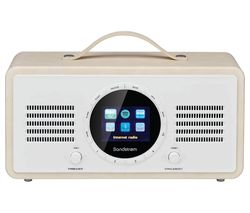 SANDSTROM SL-IBTC18 Portable DAB+/FM Smart Bluetooth Radio - Cream