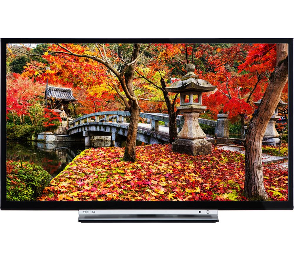 "32"" TOSHIBA 32W3753DB Smart LED TV, Gold Review thumbnail"