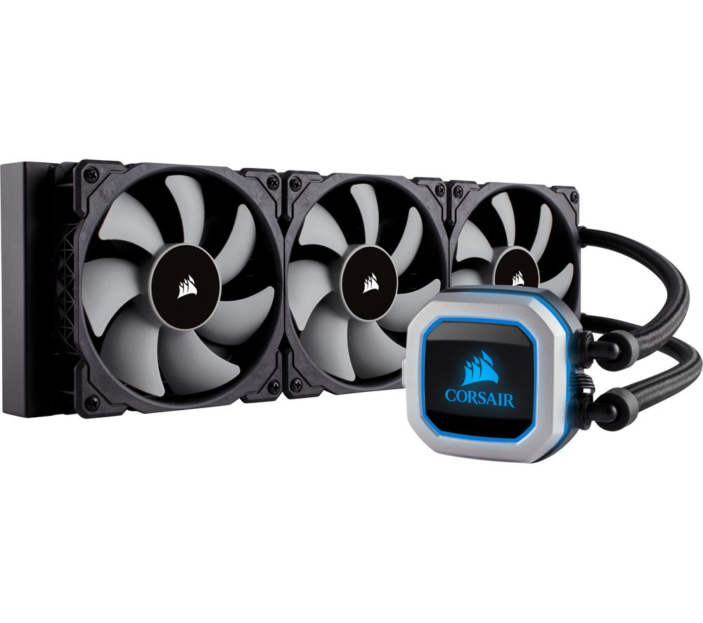 CORSAIR Hydro Series H150i Pro 360 mm CPU Cooler - RGB LED