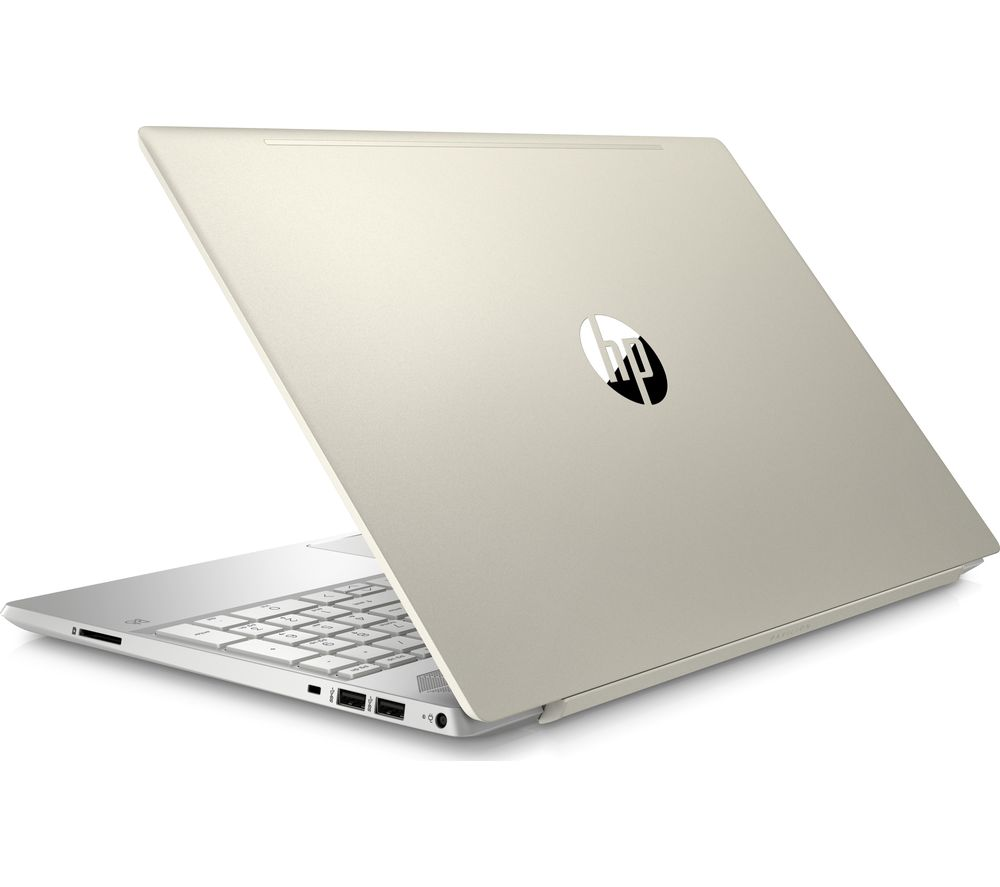 "Image of HP Pavilion 15-cw0597sa 15.6"" AMD Ryzen 3 Laptop - 128 GB SSD, Gold, Gold"
