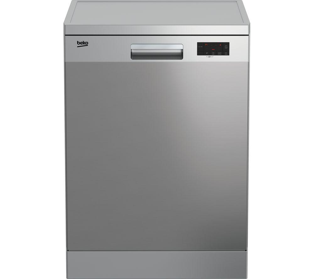 BEKO Pro DFN16X10X Full-size Dishwasher - Stainless Steel