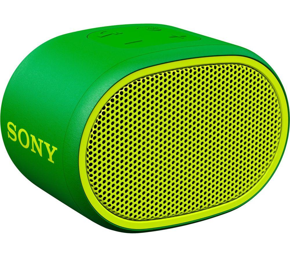 SONY SRS-XB01 Portable Bluetooth Speaker - Green, Green