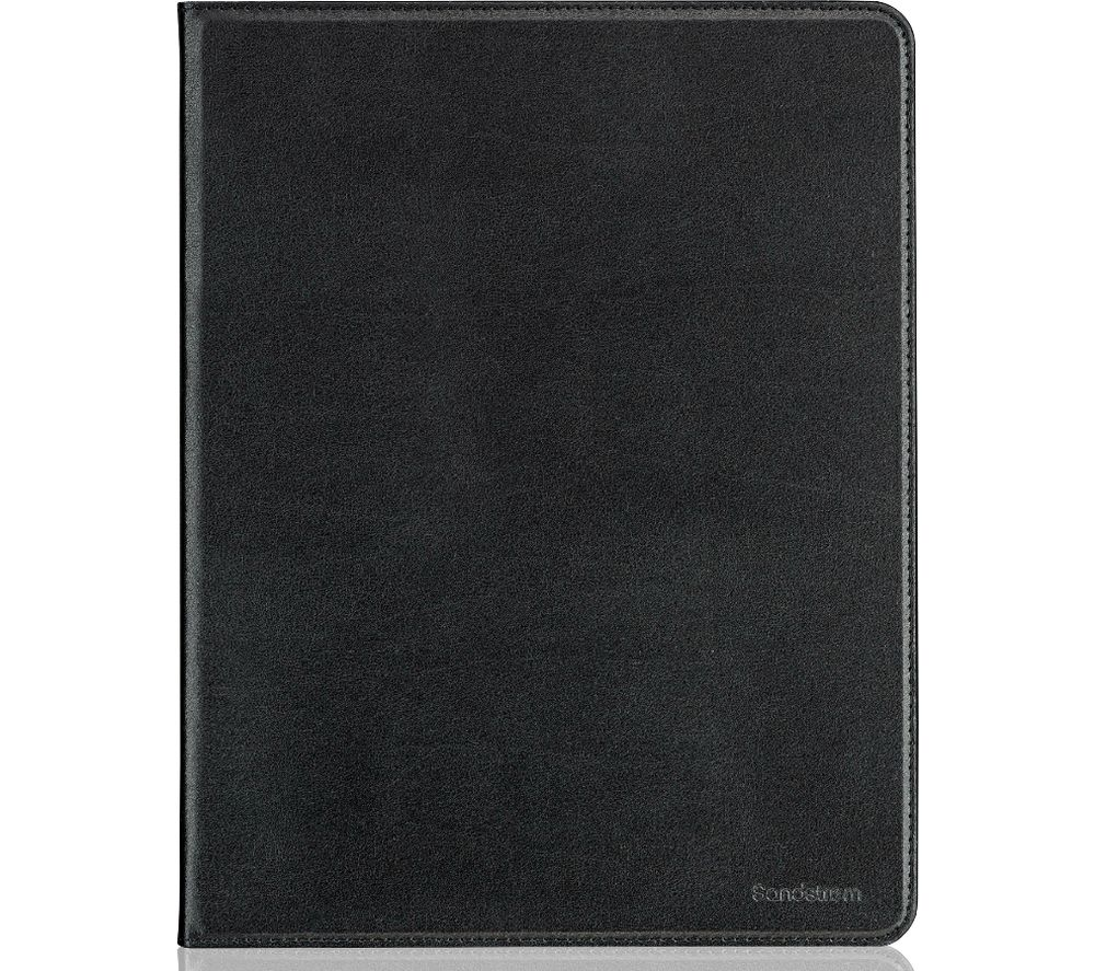 "SANDSTROM 10.5"" iPad Pro Leather Folio Case - Black, Black"