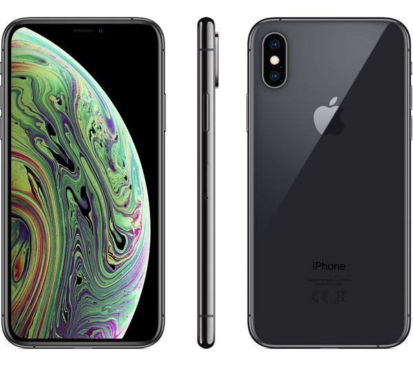 38ab84c3430 APPLE iPhone Xs - 64 GB, Space Grey