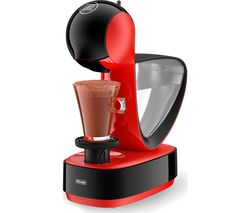 by De'Longhi Infinissima EDG260.R Coffee Machine - Red & Black