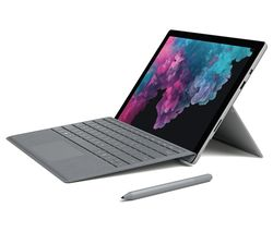"MICROSOFT 12.3"" Intel® Core™ i5 Surface Pro 6 & Type Cover - 128 GB SSD, Platinum"