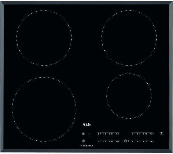 AEG IKB64401FB Electric Induction Hob - Black