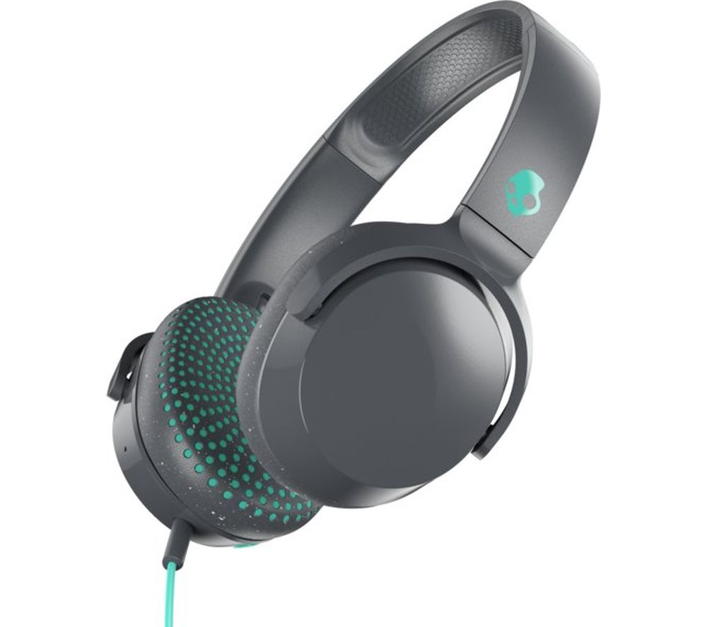 SKULLCANDY Riff S5PXY-L637 Headphones - Grey & Miami Blue
