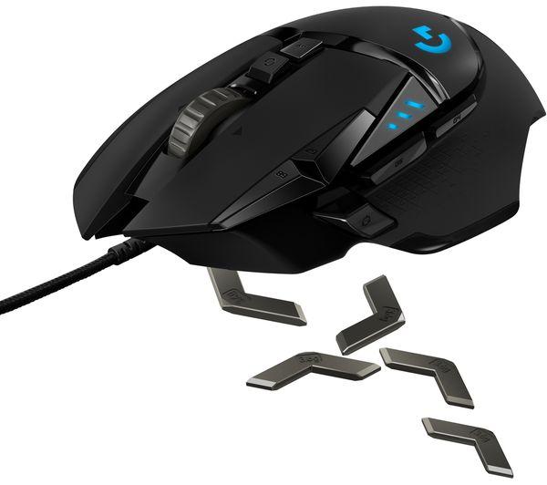 LOGITECH G213 Prodigy Gaming Keyboard & G502 Hero Optical Gaming Mouse  Bundle