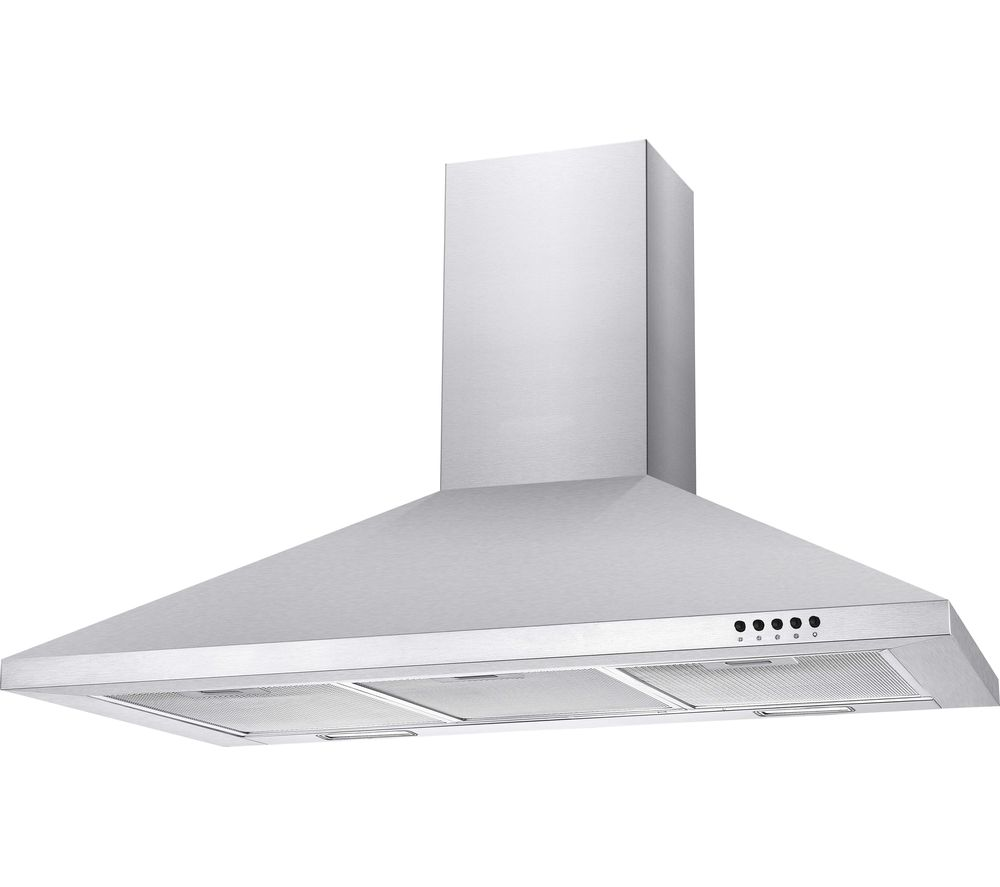 CCE90NX Chimney Cooker Hood - Stainless Steel
