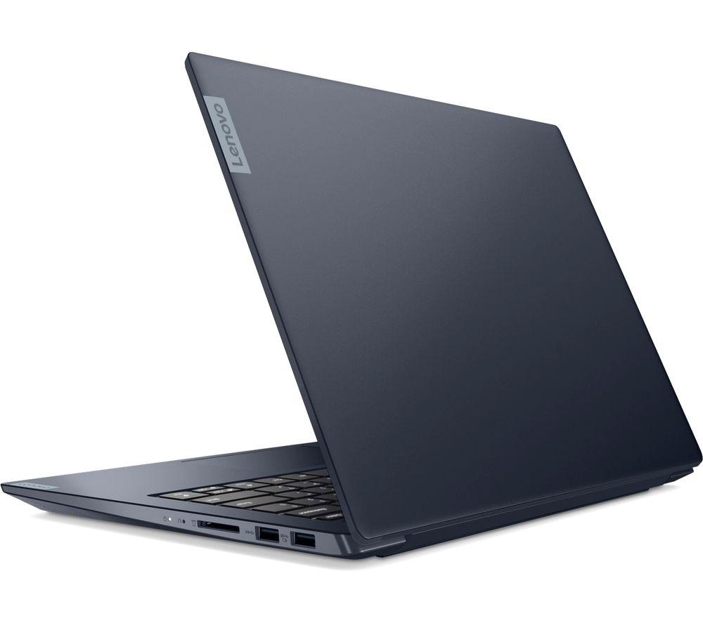 "Image of LENOVO IdeaPad S340 14"" AMD Ryzen 5 Laptop - 256 GB SSD, Blue, Blue"