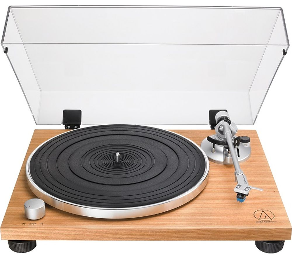 AUDIO TECHNICA AT-LPW30 Belt Drive Turntable - Wood Teak