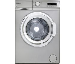 MONTPELLIER MW7140S 7 kg 1400 rpm Washing Machine - Silver
