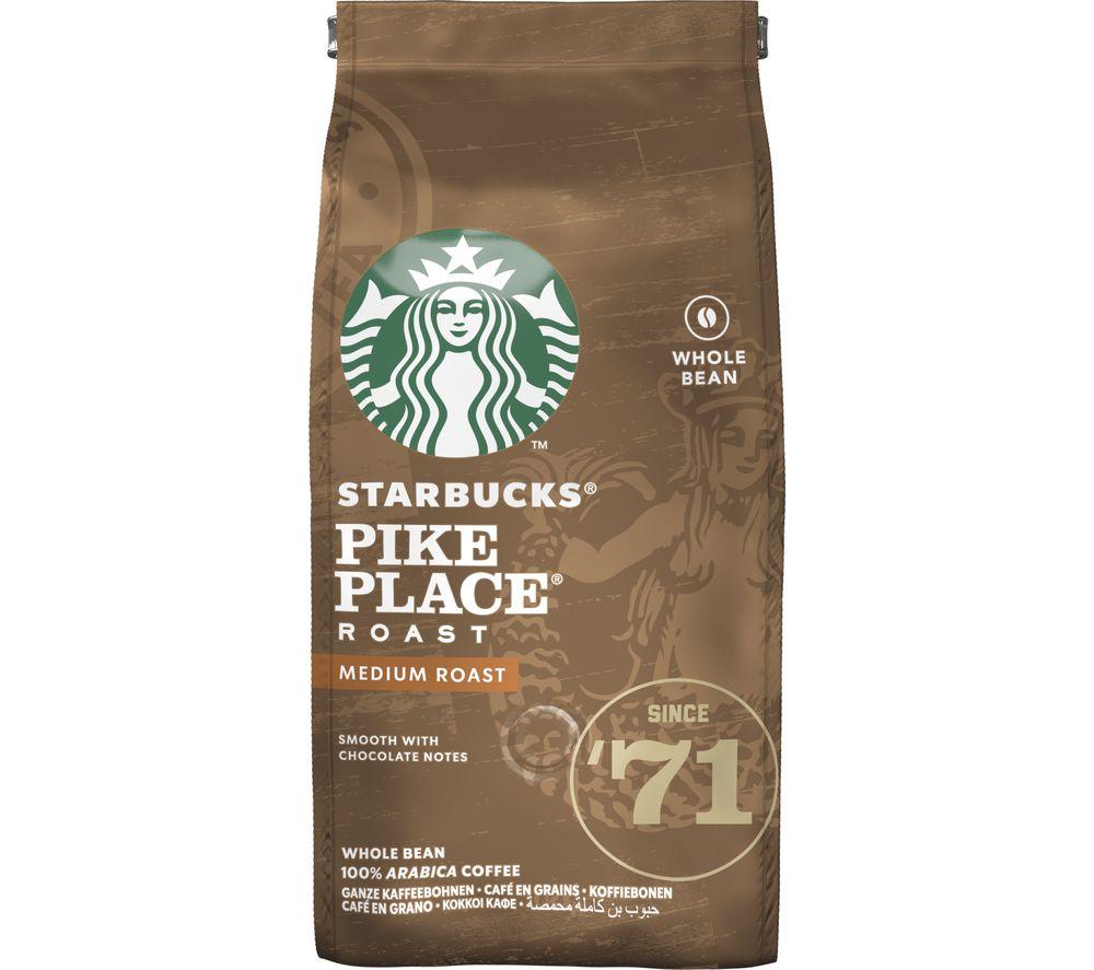 STARBUCKS Pike Place Roast Coffee Beans - 200 g