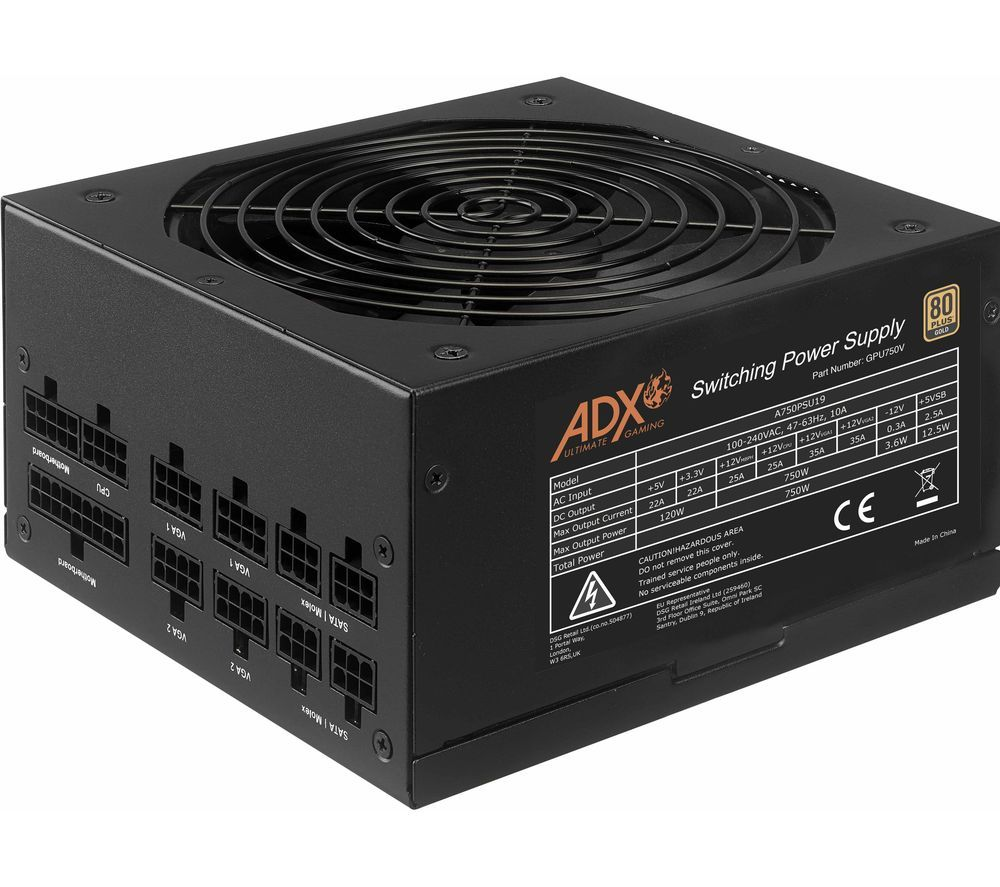 ADX Power W750 Modular ATX PSU - 750 W