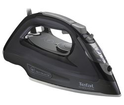 TEFAL Ultraglide Anti-scale FV2662 Steam Iron - Black Best Price, Cheapest Prices