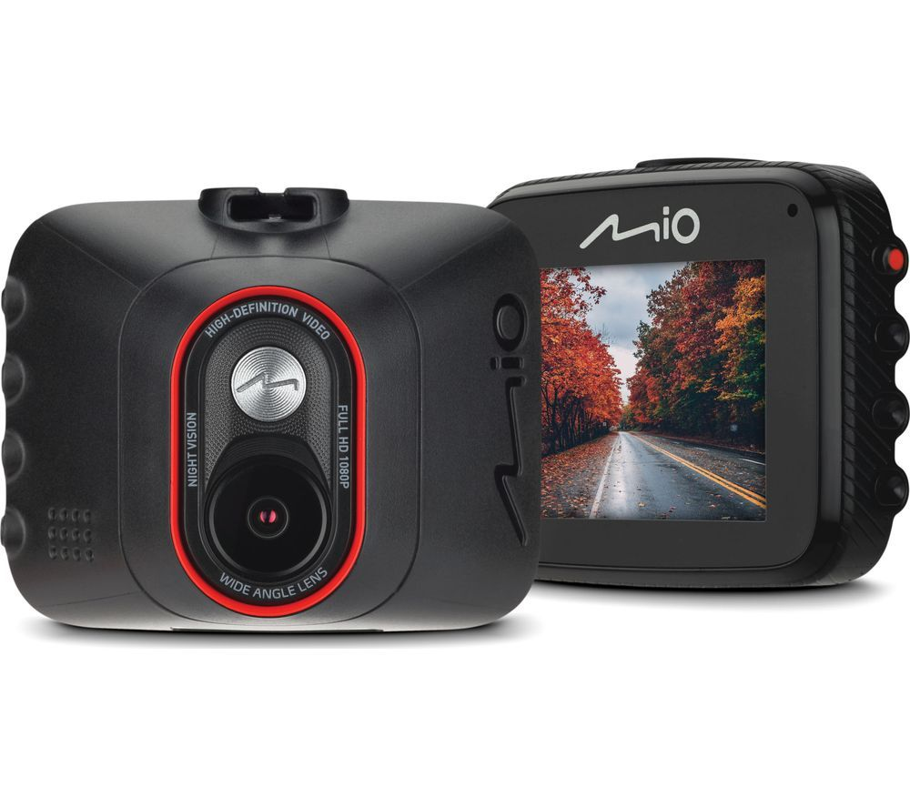 MIO MiVue C312 Full HD Dash Cam - Black