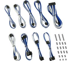 Classic ModMesh RT-Series ASUS ROG/Seasonic Cable Kit - White & Blue