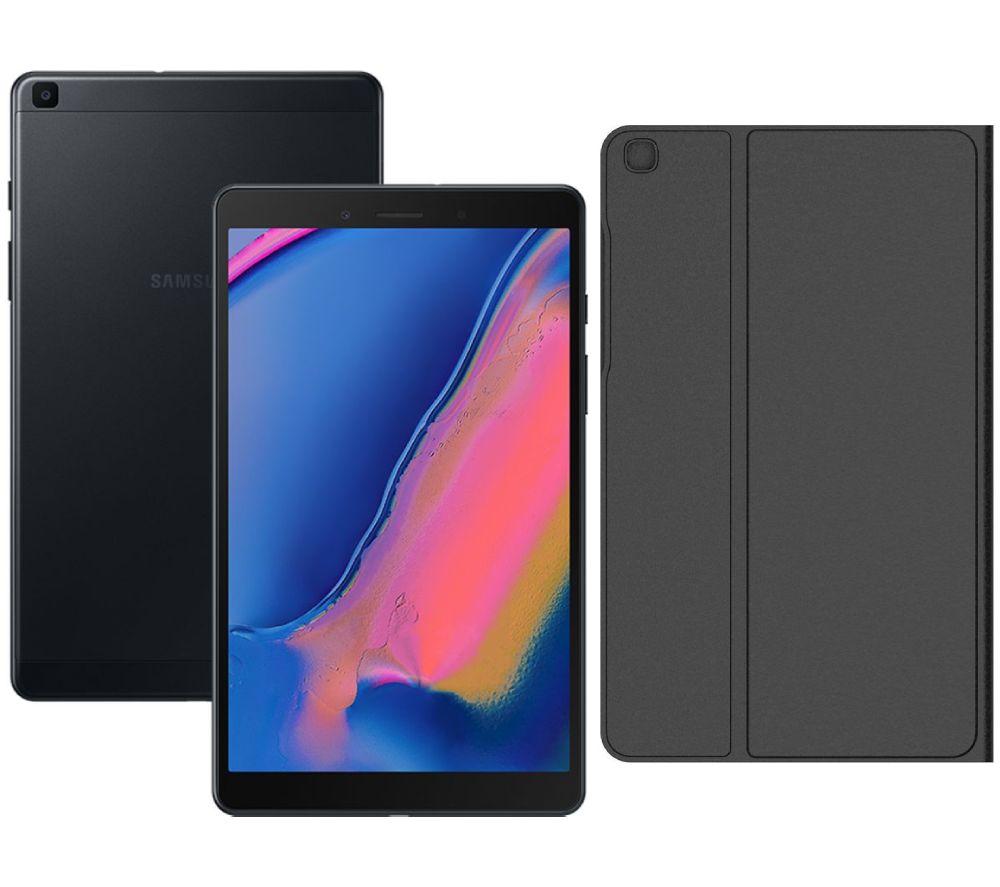 """SAMSUNG Galaxy Tab A 8"""" Tablet (2019) & Folio Bundle - 32 GB, Black"""
