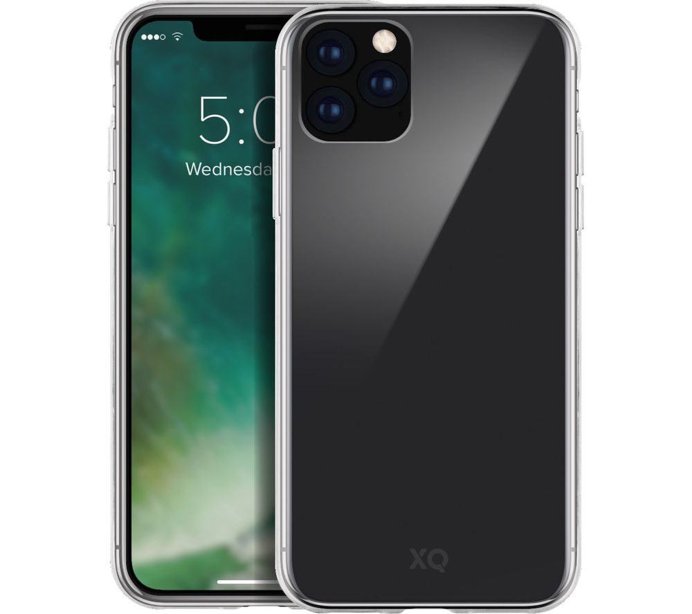 XQISIT iPhone 11 Pro Max Case - Clear