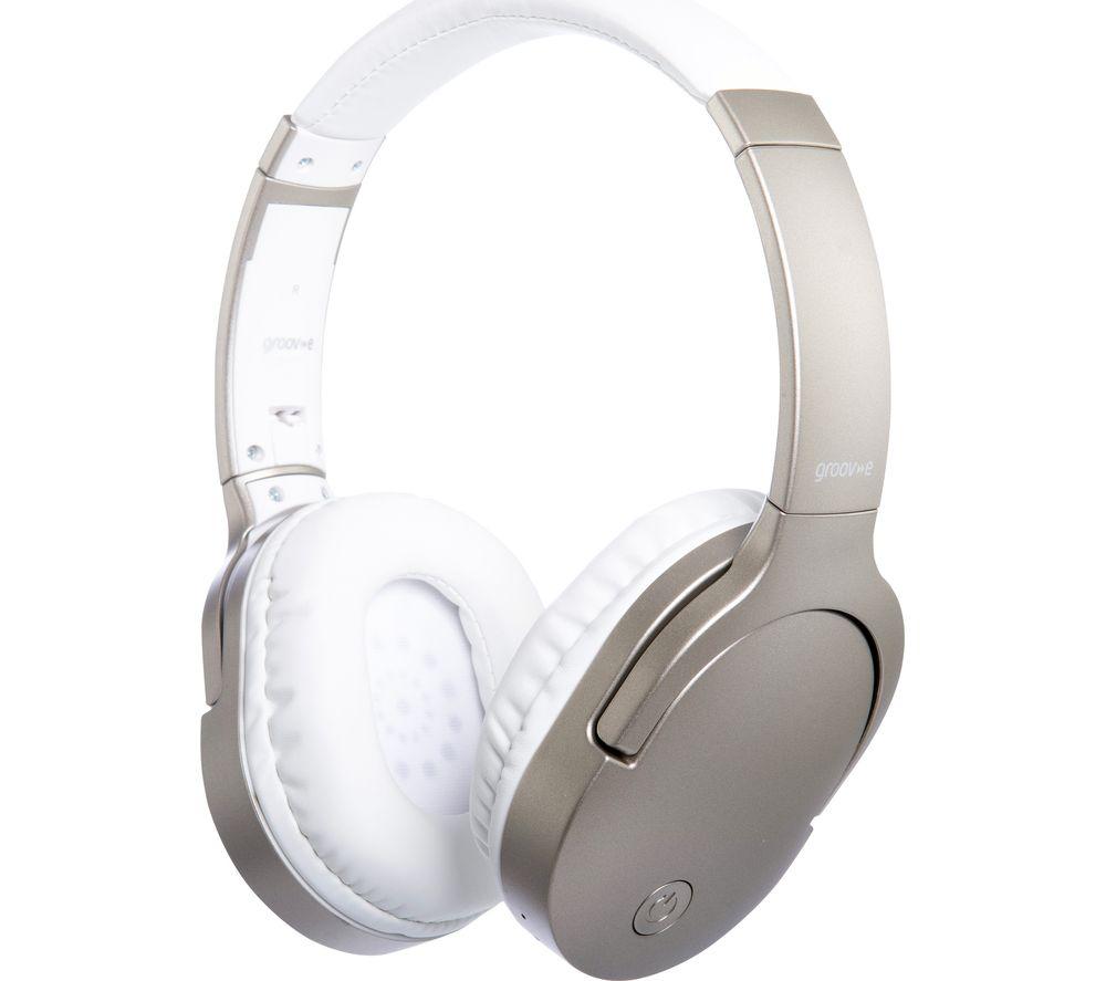GROOV-E Ultra GV-BT750-GD Wireless Bluetooth Headphones - Gold