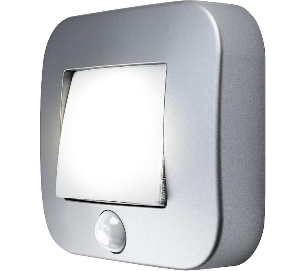 LEDVANCE NIGHTLUX Hall Sensor LED Light - Silver, Cool White Light