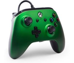 Xbox One Enhanced Wired Controller - Emerald Fade