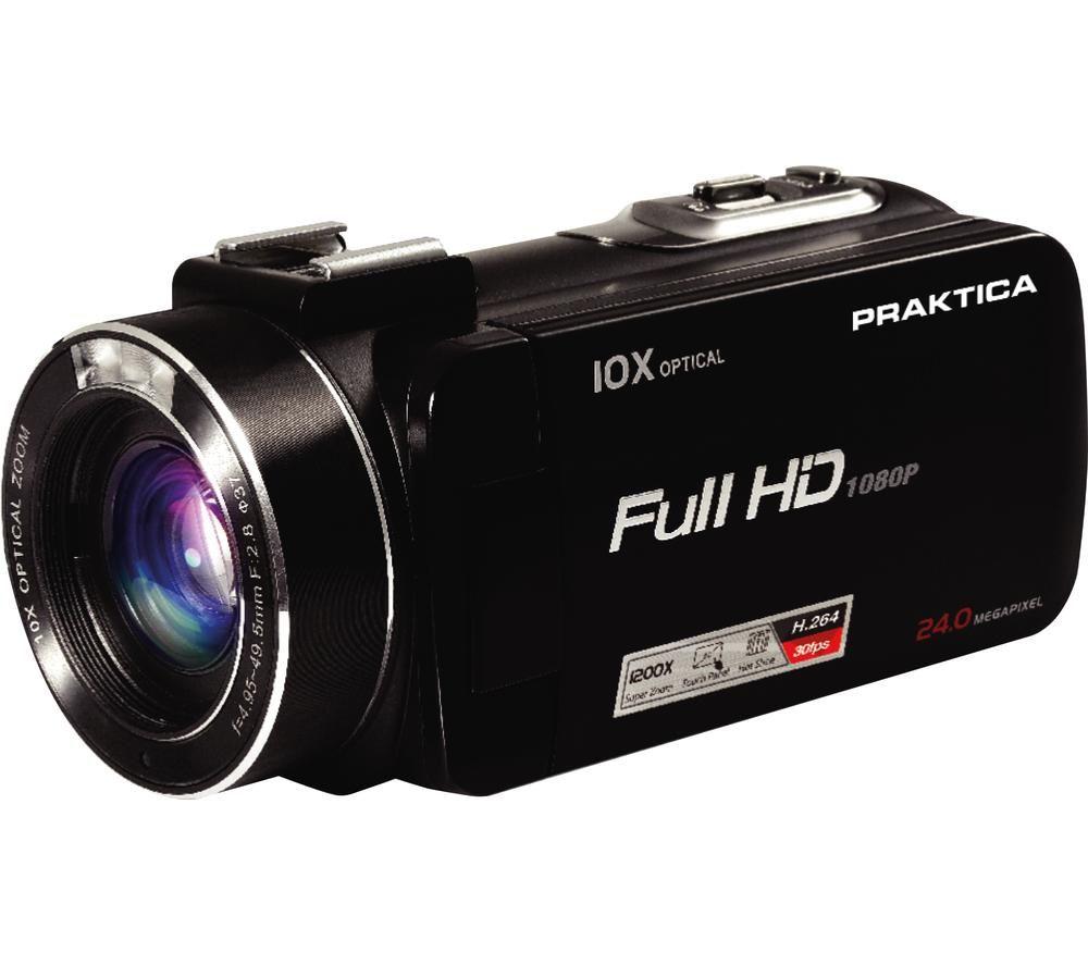 PRAKTICA Luxmedia Z150-BK Camcorder - Black