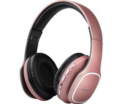 Phonic VK-2002-GD Wireless Bluetooth Headphones - Rose Gold