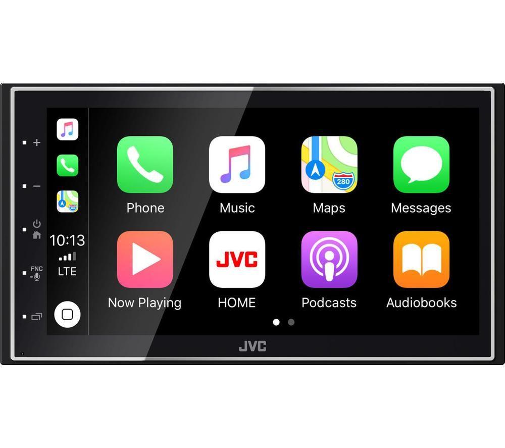 JVC KW-M745DBT Smart Bluetooth Car Radio - Black