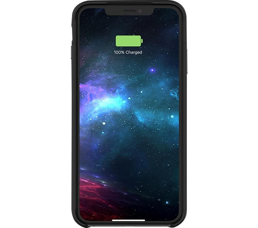 Image of MOPHIE Juice Pack Access iPhone XS Max Battery Case - Black, Black