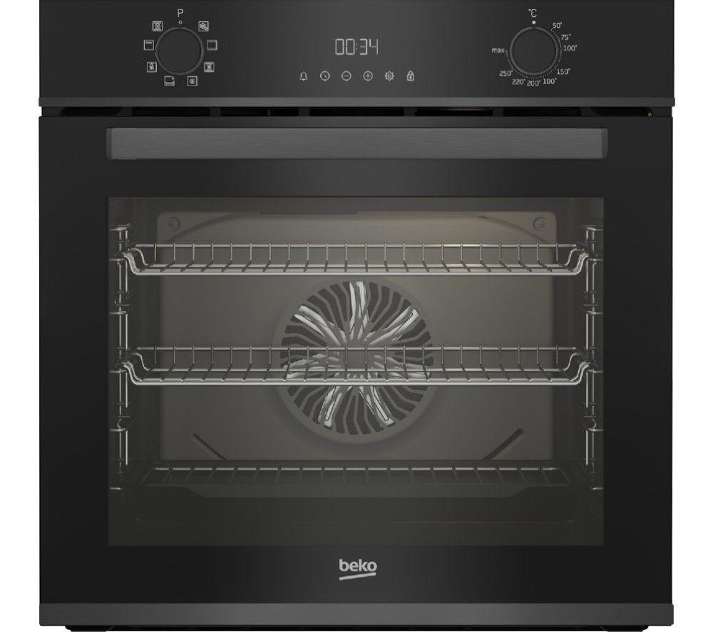 BEKO BBXIM17300DX Electric Oven - Dark Steel