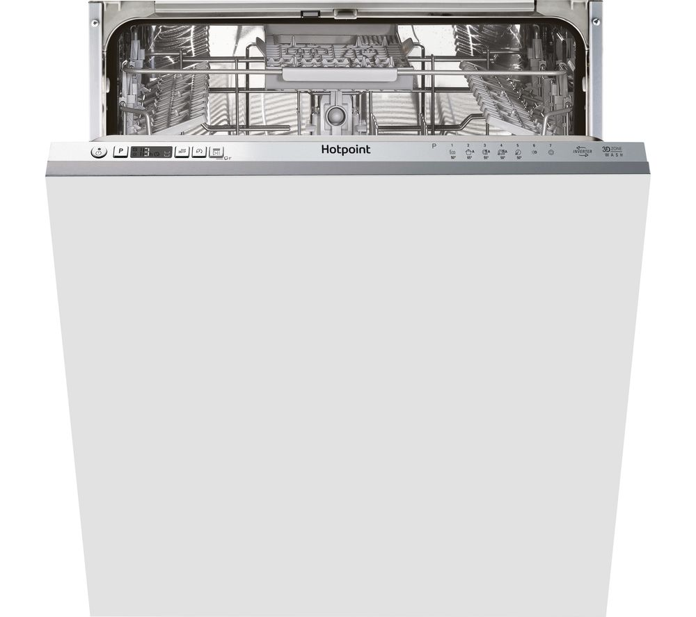 HOTPOINT HIC 3C33 CWE UK Full-size Fully Integrated Dishwasher