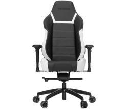 P-LINE PL6000 Gaming Chair - Black & White
