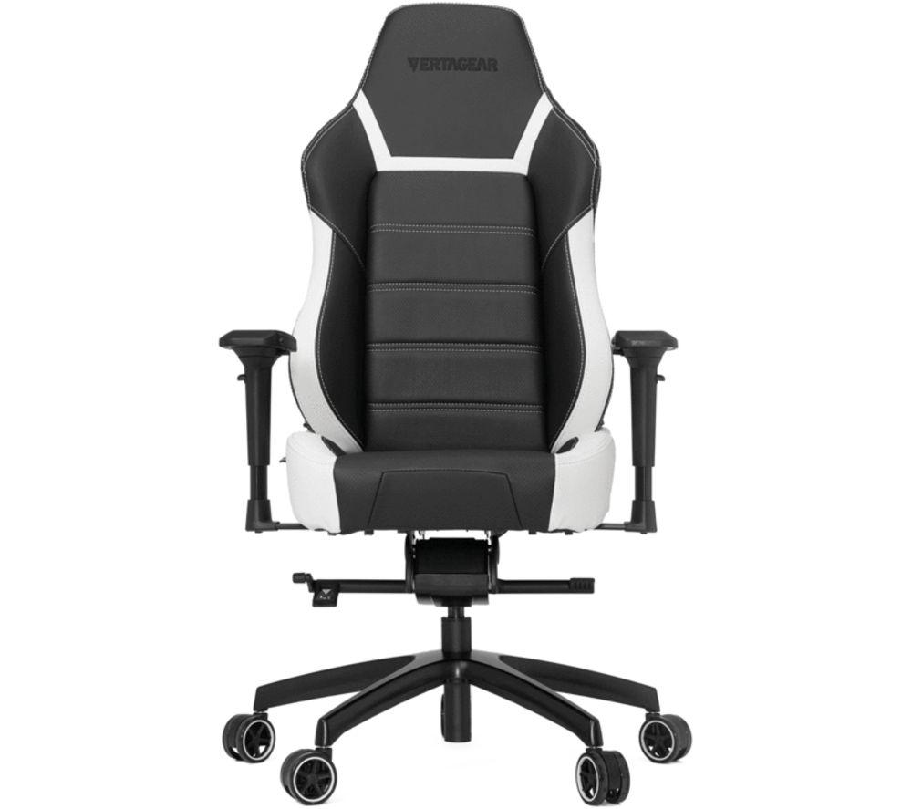 VERTAGEAR P-LINE PL6000 Gaming Chair - Black & White