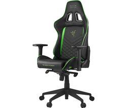 Tarok PRO Gaming Chair - Black & Green