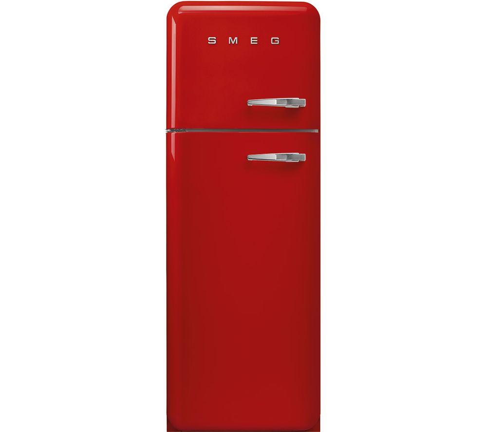 SMEG FAB30LRD5UK 70/30 Fridge Freezer - Red