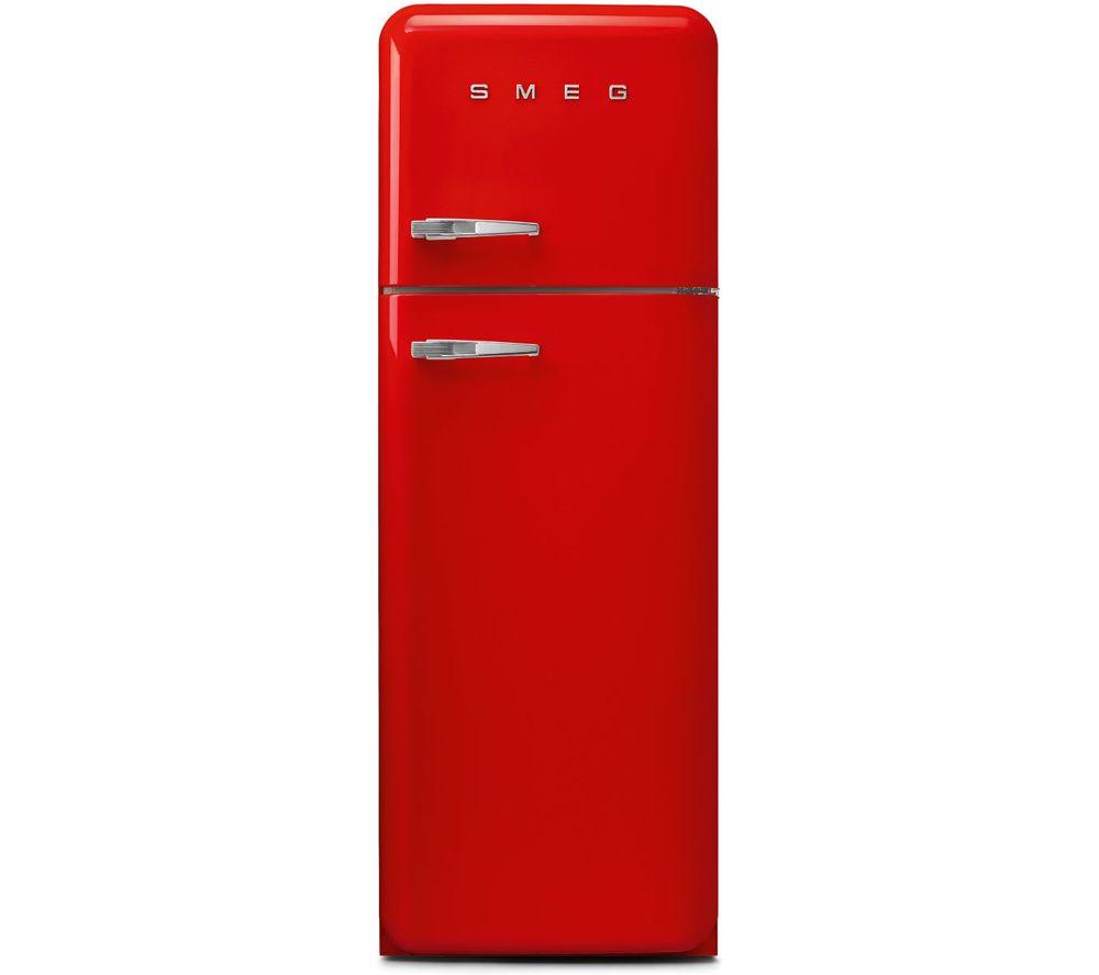 SMEG FAB30RRD5UK 80/20 Fridge Freezer - Red