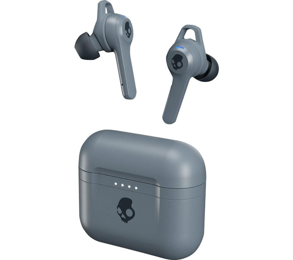 SKULLCANDY Indy Fuel Wireless Bluetooth Earphones - Chill Grey