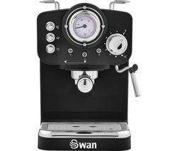 Retro Pump Espresso SK22110BN Coffee Machine - Black