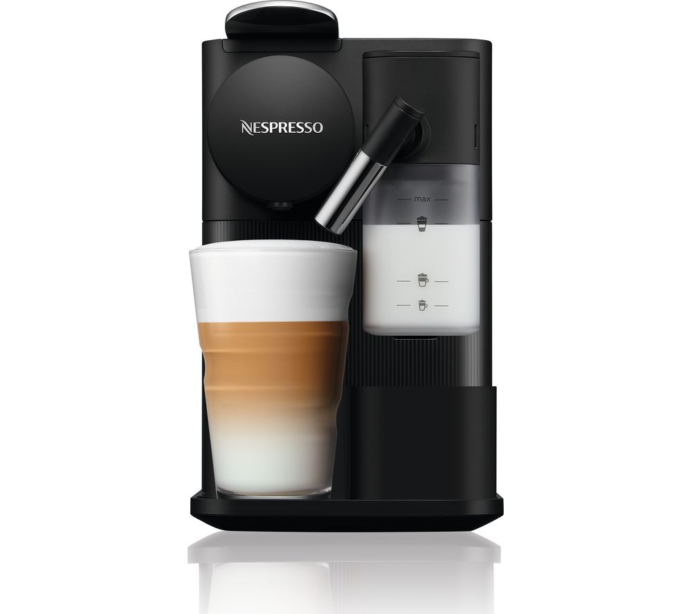 NESPRESSO by De'Longhi Lattissima One EN510.BK Coffee Machine - Black