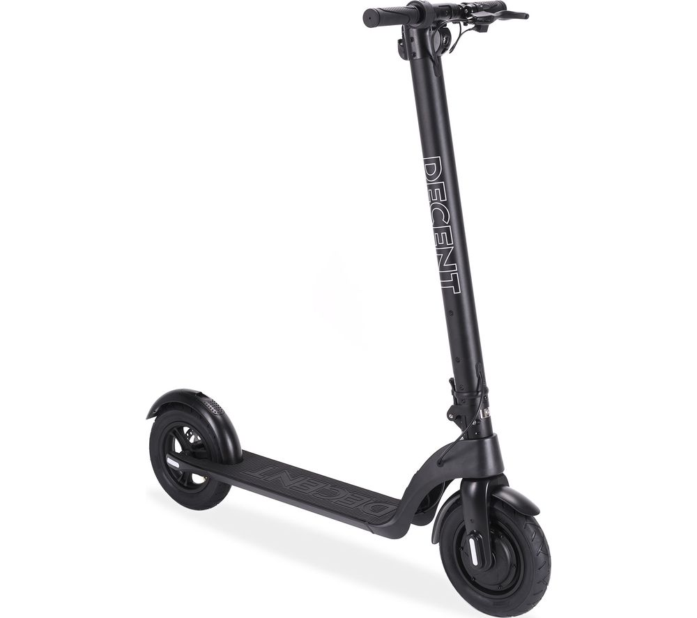 DECENT One DCNT1000 Folding Electric Scooter - Black