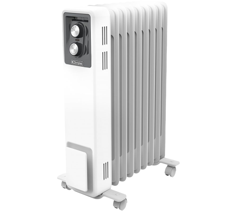 DIMPLEX OCR20 Portable Oil-Filled Radiator - White
