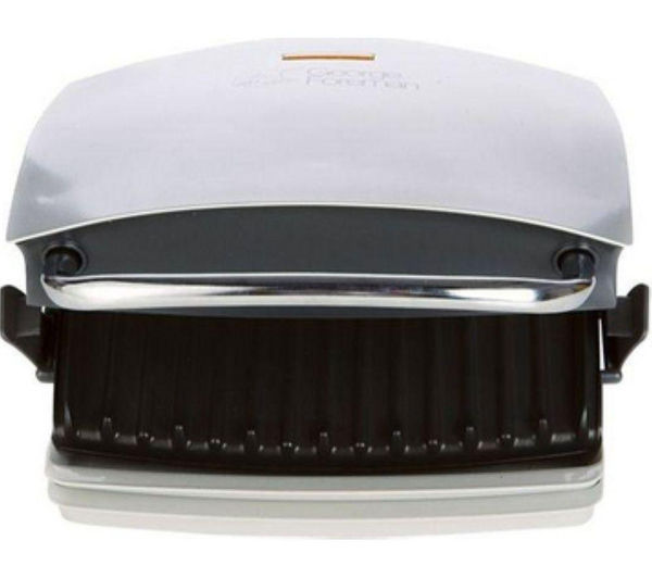 Image of GEORGE FOREMAN 14181 Family Grill and Melt Health Grill - Silver