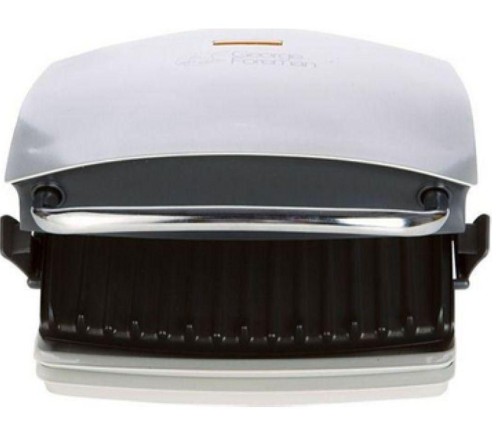 Image of GEORGE FOREMAN 14181 Family Grill and Melt Health Grill - Silver, Silver