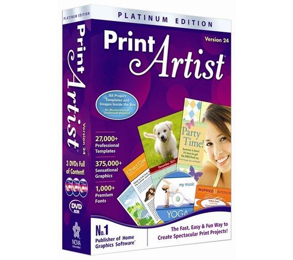 Image of AVANQUEST Print Artist Platinum 24