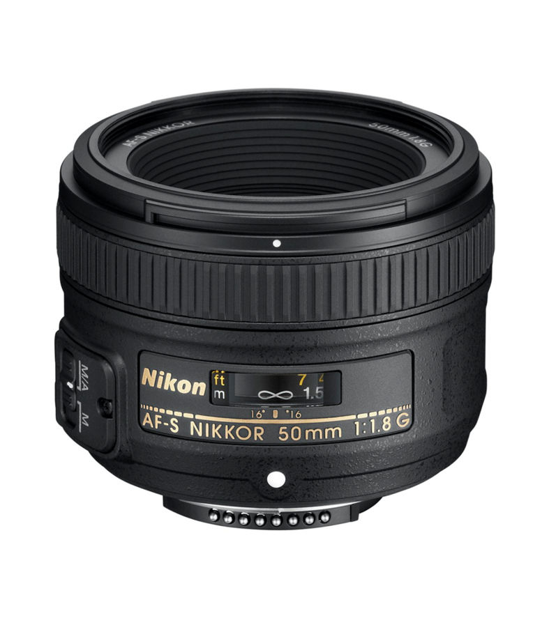 NIKON AF-S NIKKOR 50 mm f/1.8G Standard Prime Lens + DSLR Cleaning Kit